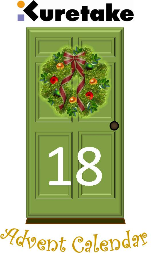 Kuretake uk blog kuretake advent calendar door 18 for 18 door
