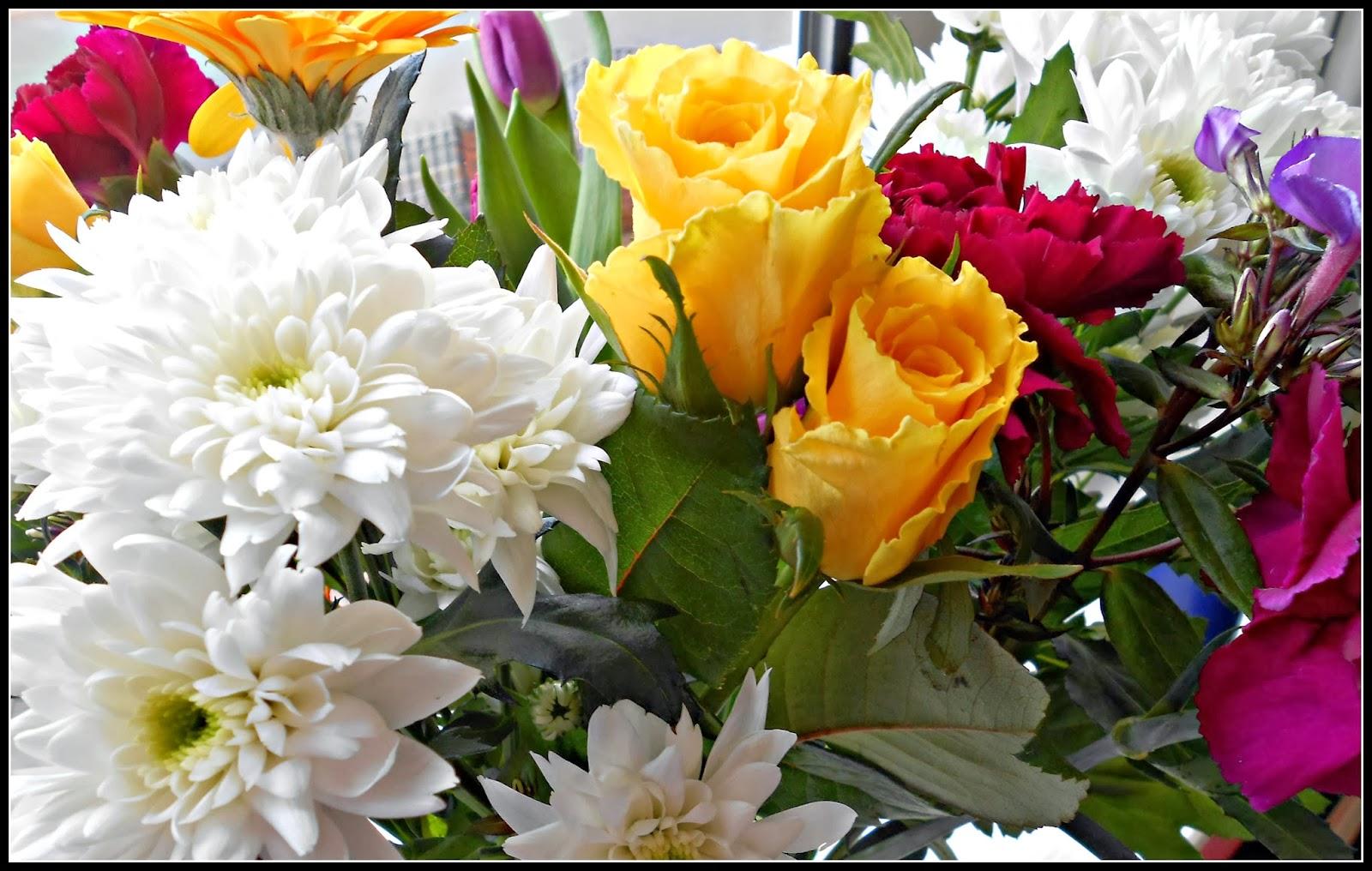 Flowers in Bouquet