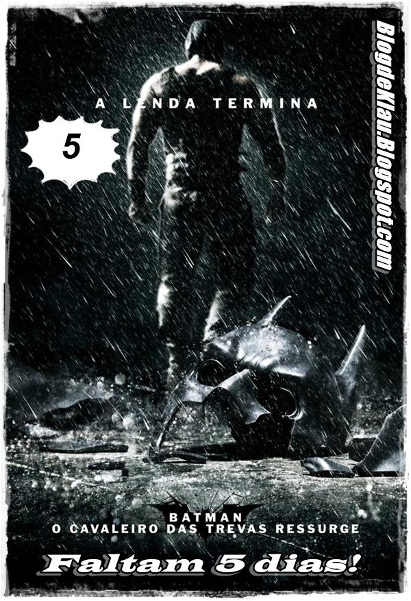 A estreia de  Batman - O Cavaleiro das Trevas Ressurge  no Brasil acontece  dia 27 de Julho - próxima sexta. 9838ad73c03