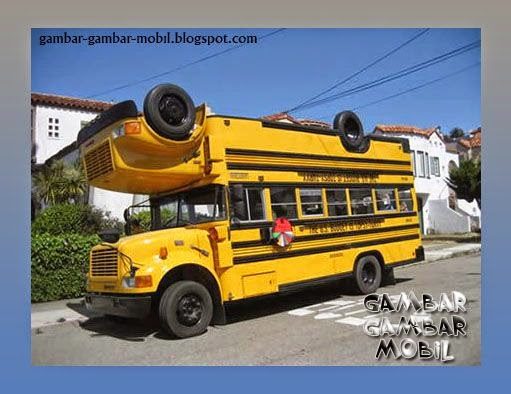 foto mobil bus keren