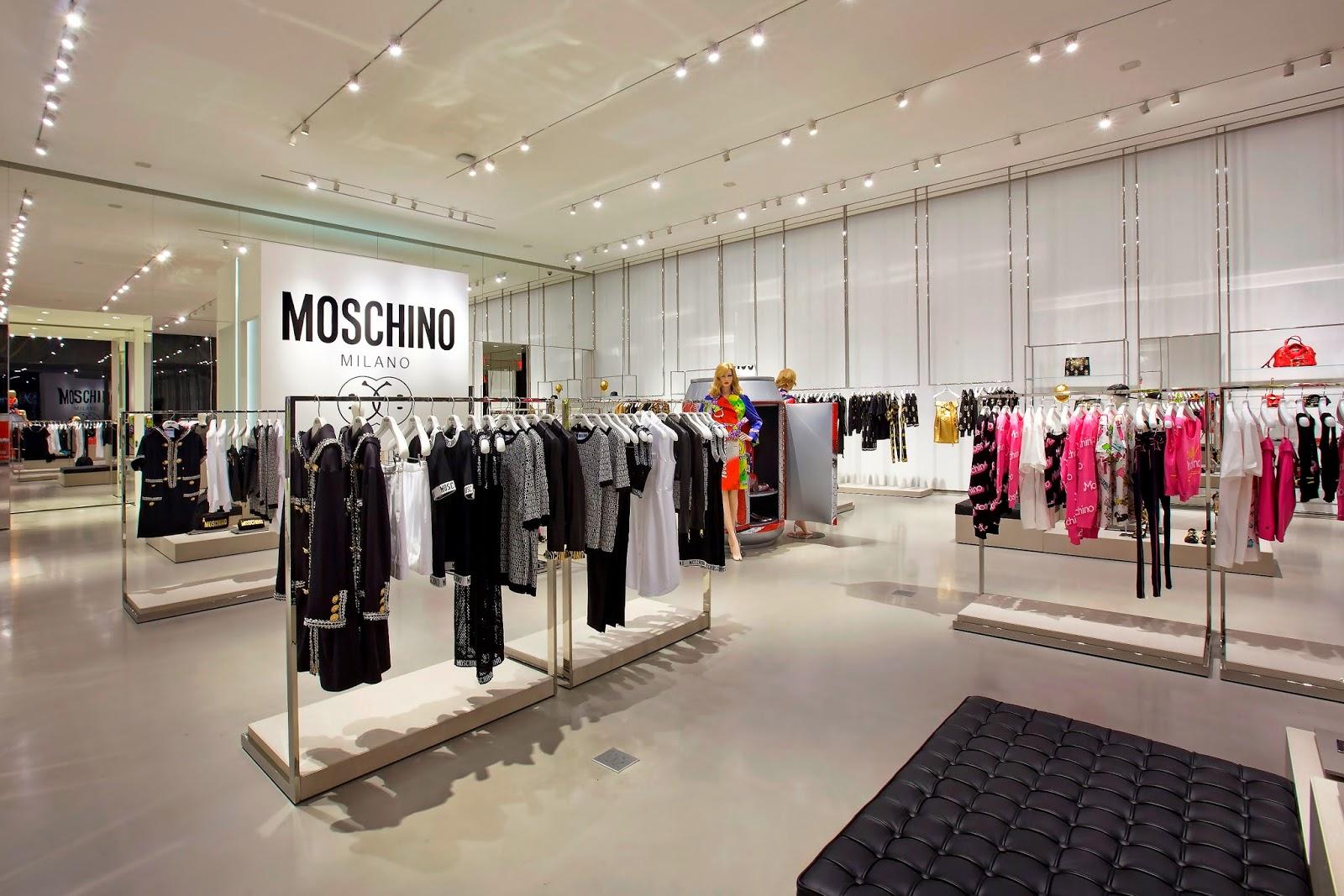 Moschino West Hollywood Clothing Racks