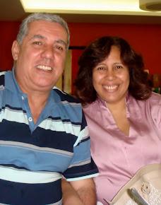 Pra. Vânia e Pr. Joaquim - Ex-alunos - NÚCLEO I - IRAJÁ