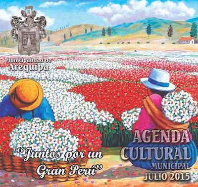 Agenda Cultural 475 Aniversario de Arequipa 2015
