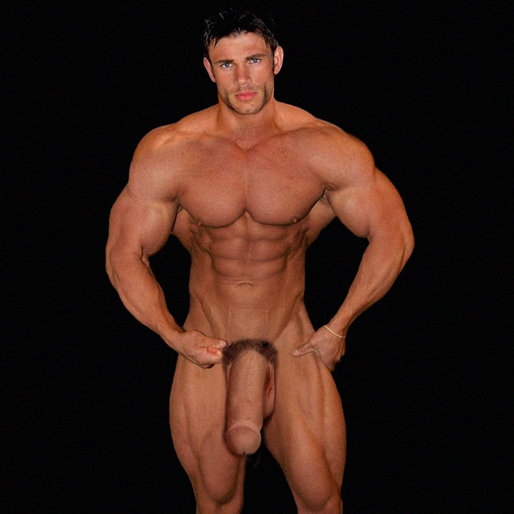 Stunningly Handsome Horse Hung Bodybuilder