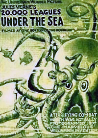 Ver película : 20.000 Leguas de viaje submarino, Stuart Paton, 1916