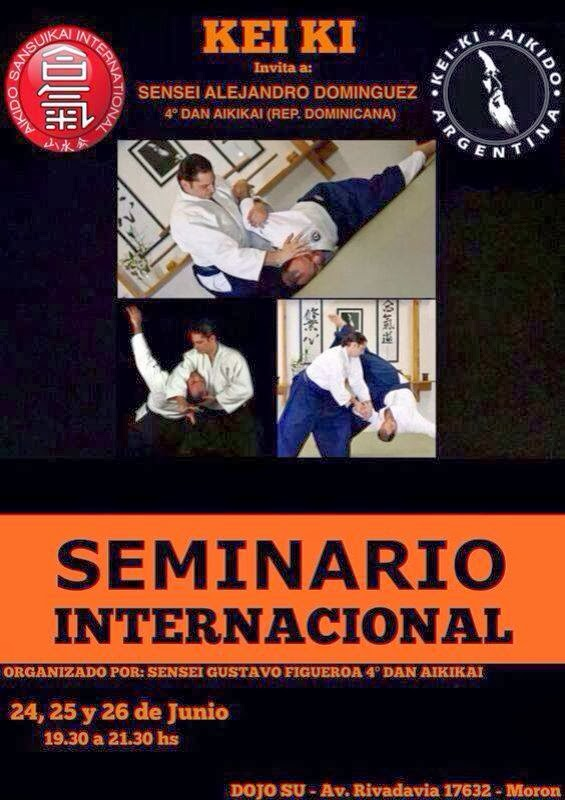 Seminario Internacional Sensei Dominguez Alejandro (4to Dan Puerto Rico)