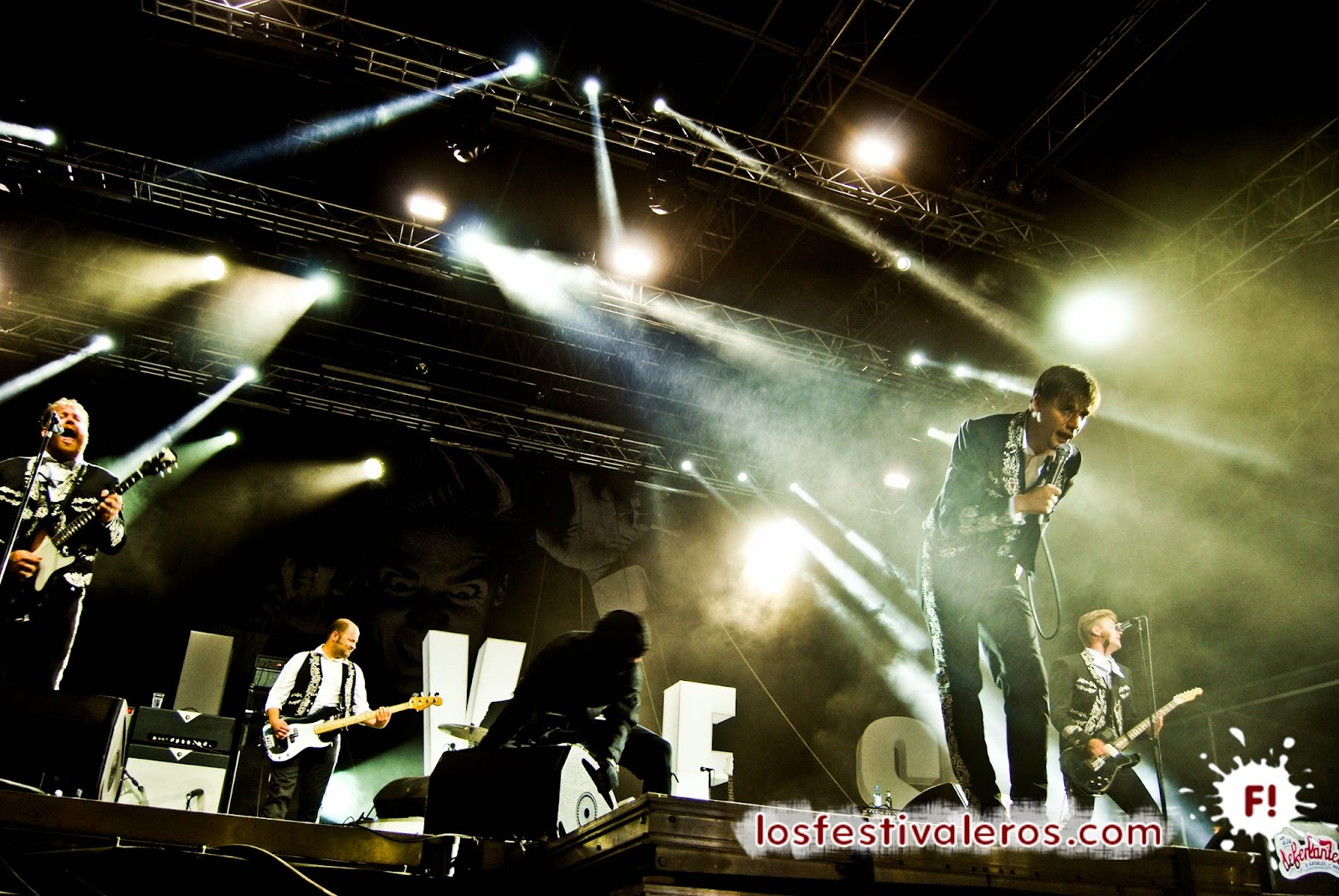 Low Festival, 2014, The Hives, Concierto