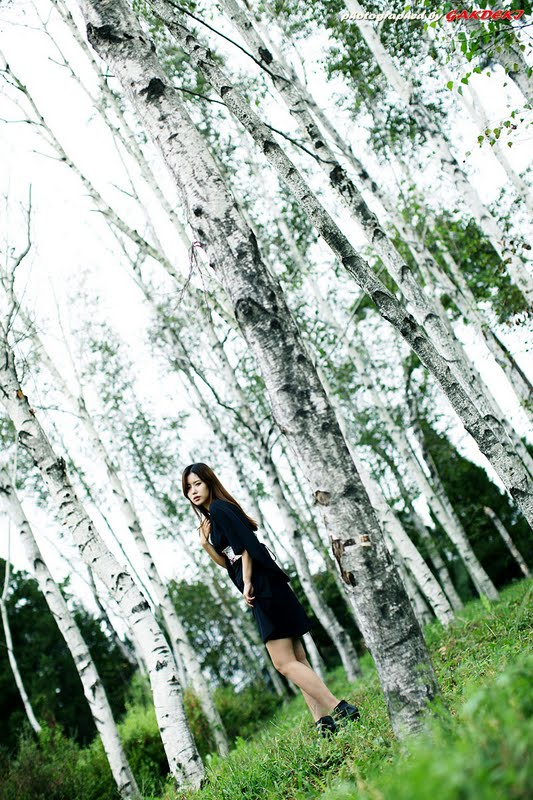 Song Jina - Outdoor Photoshoot