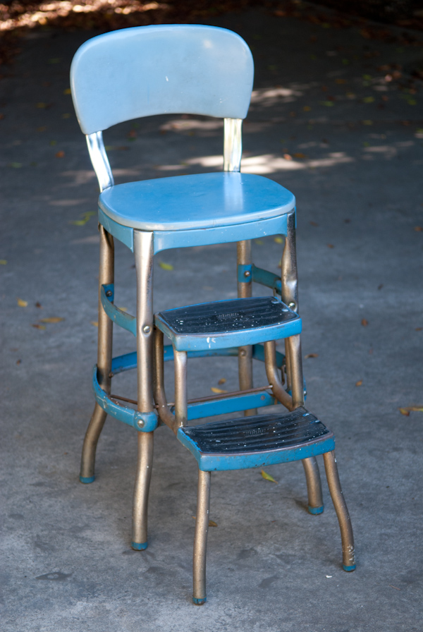 Heygreenie Vintage 50 S Cosco Step Stool Turq Es Sold