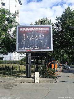 Rammstein en concert à Paris