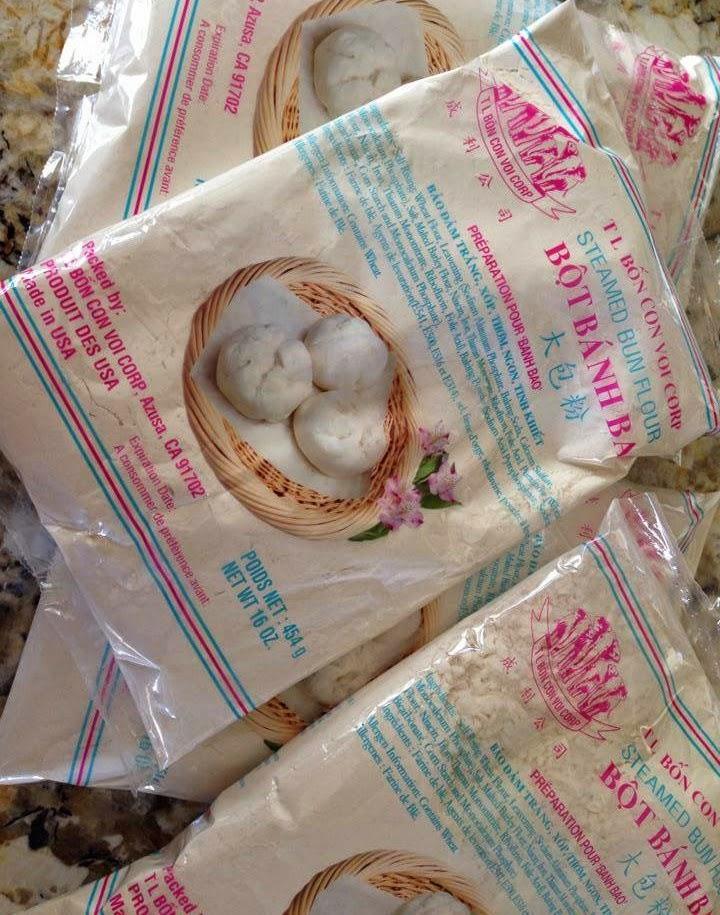 The Spices Of Life Banh Bao Vietnamese Steamed Pork Bun - Baos-con-color