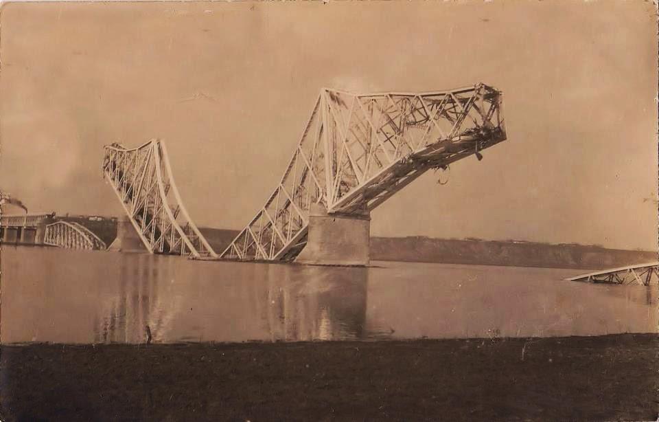 Podul peste bratul Borcea distrus