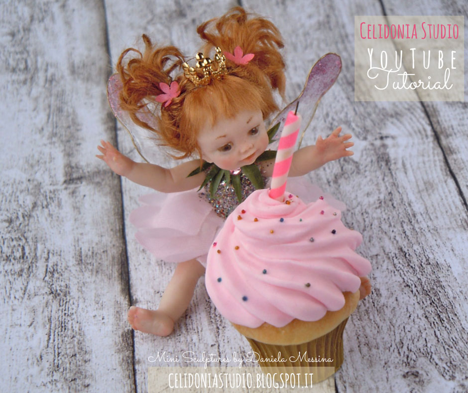 Birthday Fairy - Polymer Clay Tutorial by Celidonia