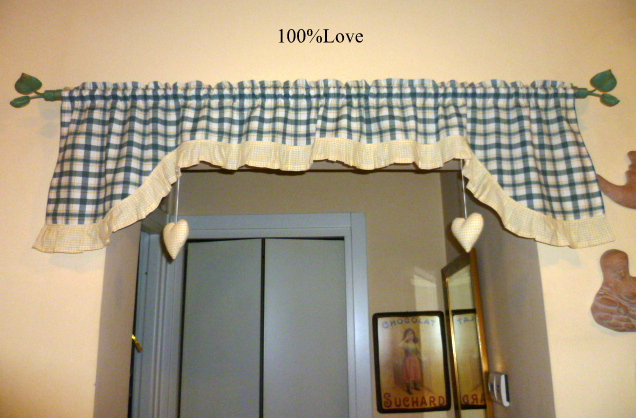 Tende Country Shabby : Love tende country