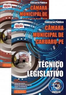 Novo Concurso Câmara Municipal de Caruaru TÉCNICO LEGISLATIVO 2015