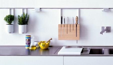 Decoraci n f cil accesorios de pared para organizar la cocina for Accesorios para organizar cocina