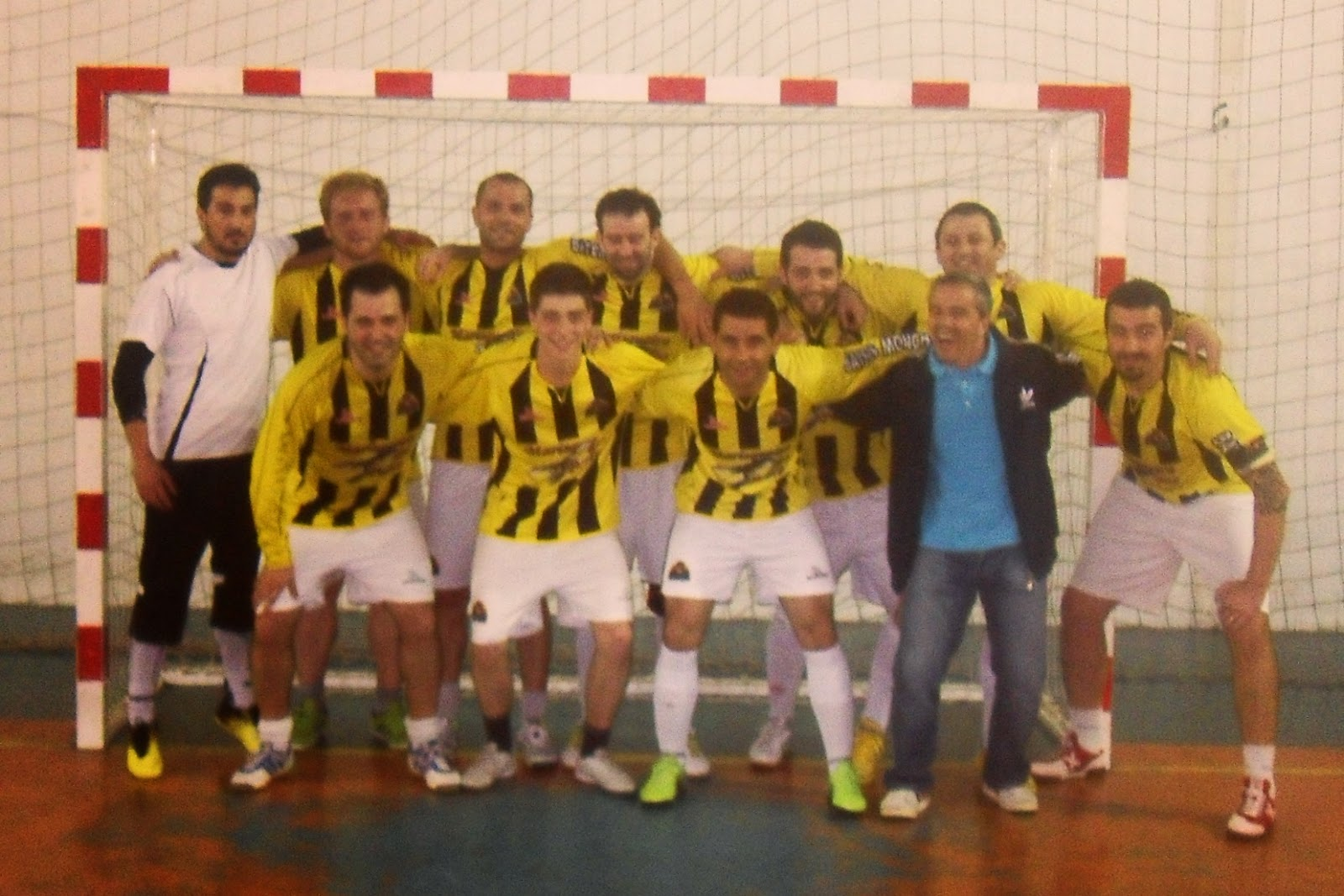 CAMPEÃO da Liga Power Futsal 2014/15