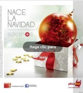 plaza vea adornos de navidad 2012