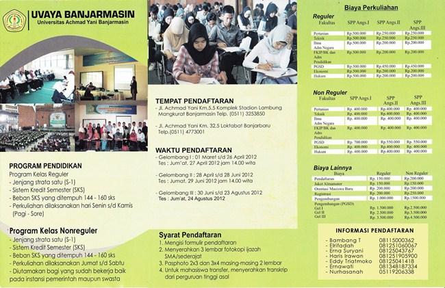 Penerimaan Mahasiswa Baru (PMB) 2012-2013