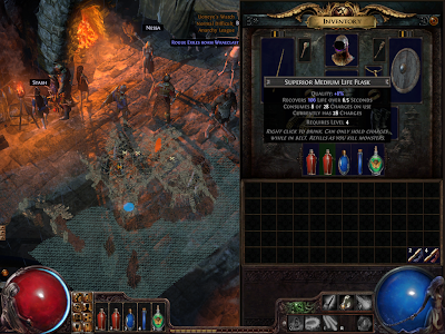 Path of Exile - Life Flask