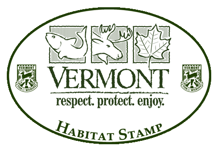 Learn more about Vermont's habitat stamp & to purchase...click image below.