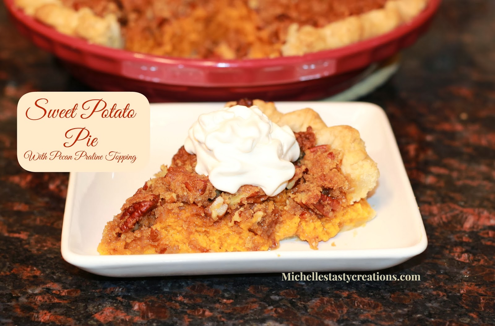 ... Tasty Creations: Sweet Potato Pie with Pecan Praline Topping
