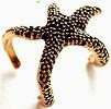 Image: Fashion Girl Retro Vintage Style Alloy Sea Animal Starfish Ring