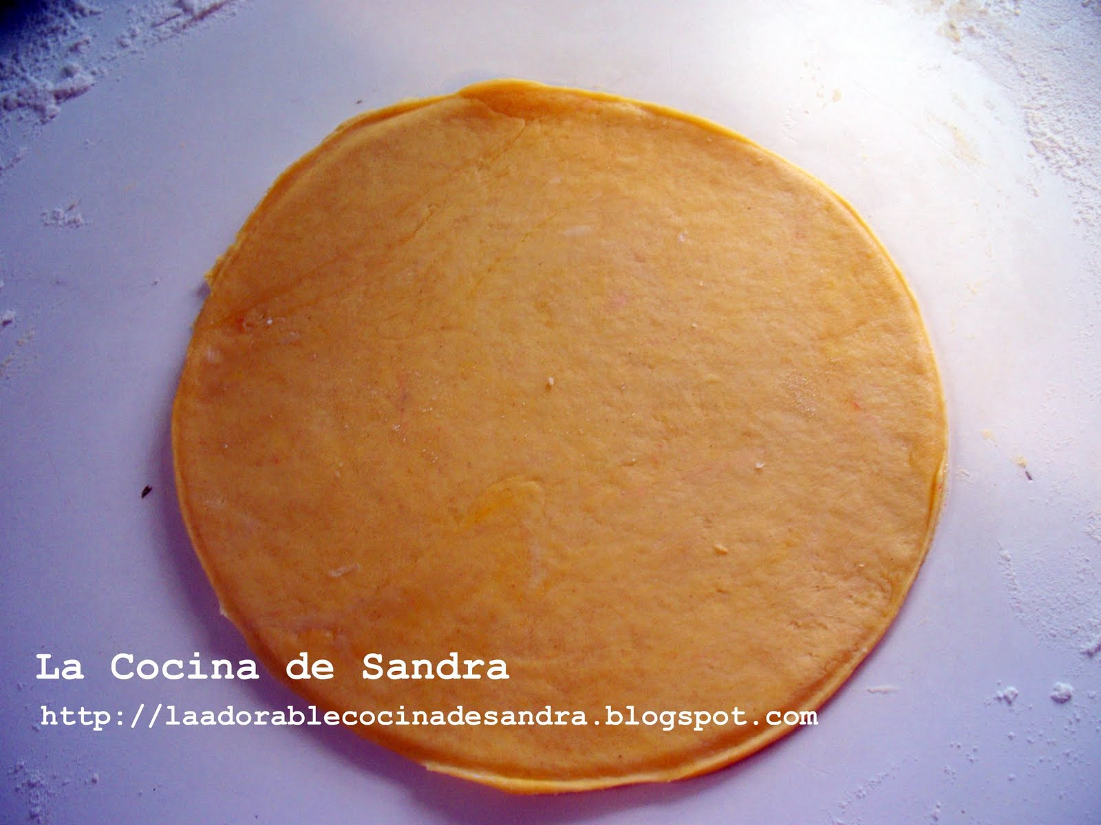 La Cocina de Sandra: Masa Para Pastelillos