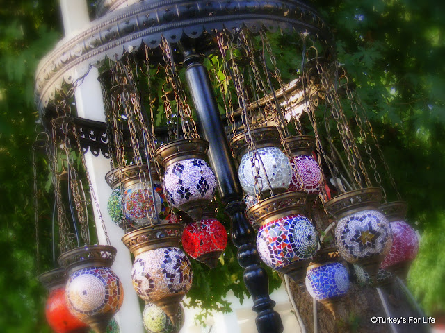 Turkish Souvenirs - Mosaic Glass Lanterns