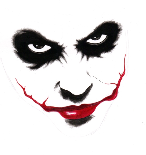 why so serious joker face