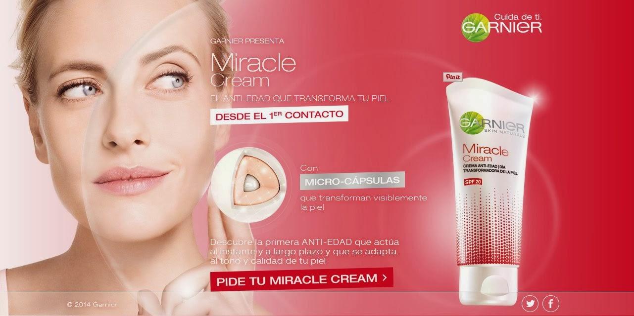 Sortean 300 Cremas Miracle Cream De Garnier