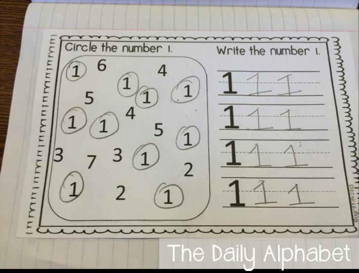 Kindergarten Calendar Math Journals : Fall math journals for kindergarten the daily alphabet