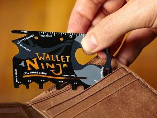 Dompet ninja atau ninja wallet produk Vante Toys