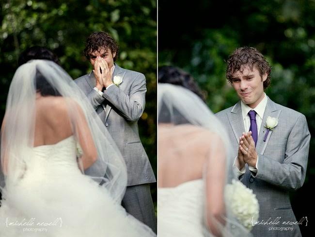 24 homens deslumbrados ao verem sua noiva