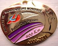 400 km medal