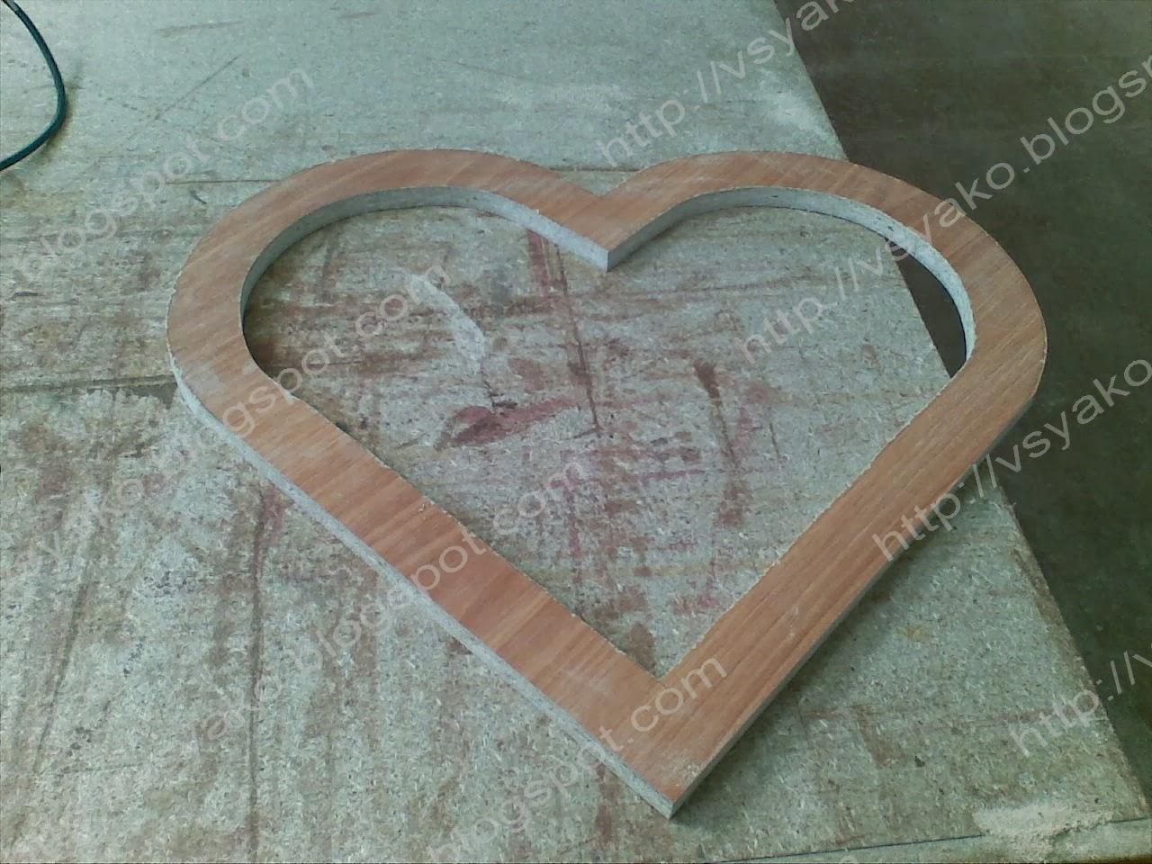 пуфик ввиде сердца 3