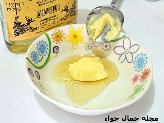 بالصور ماسك الزبدة والعسل لتصفية وترطيب الوجه مجلة جمال حواء
