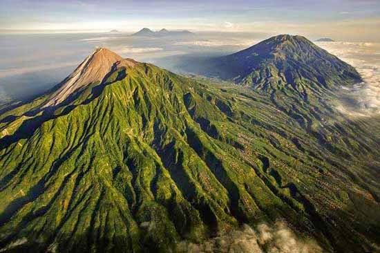 Mt.MERAPI & Mt.MERBABU