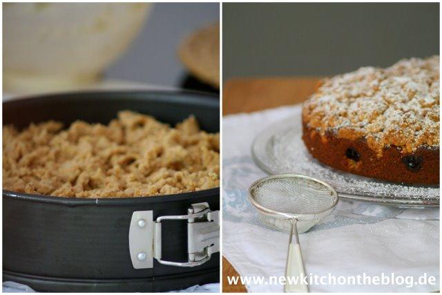 Streusel für Mohnkuchen