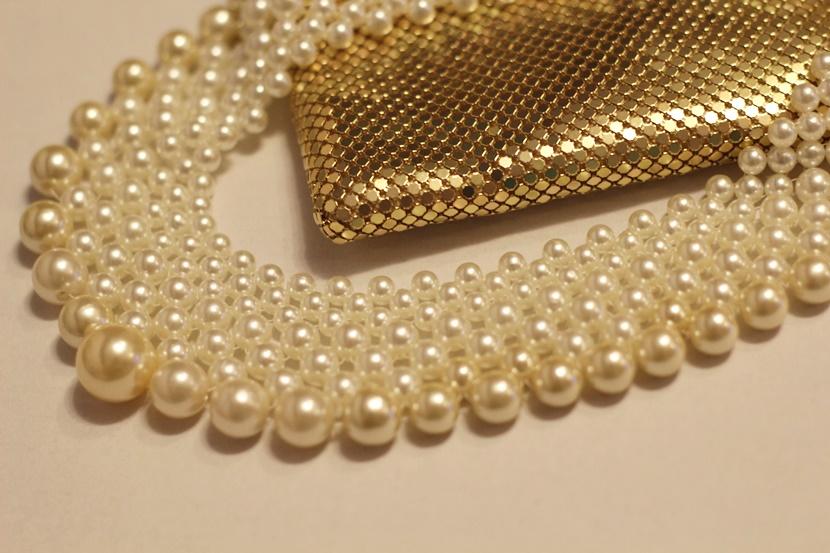 upcycling,DIY,Perlen,Kette,Schmuck,Statement, Statement Kette,Beaded Collar,DIY Kette,DIY Perlen Kette,DIY Collar