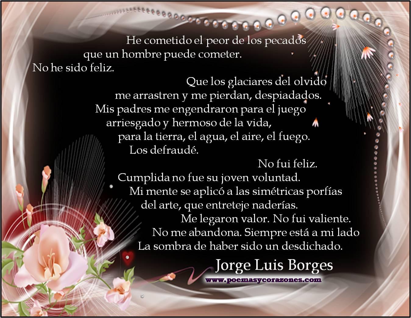 Borges Poemas de Amor Poemas de Amor Para Luis