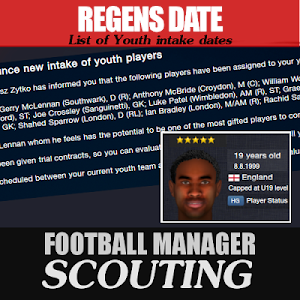 Football Manager Scouting regen dates