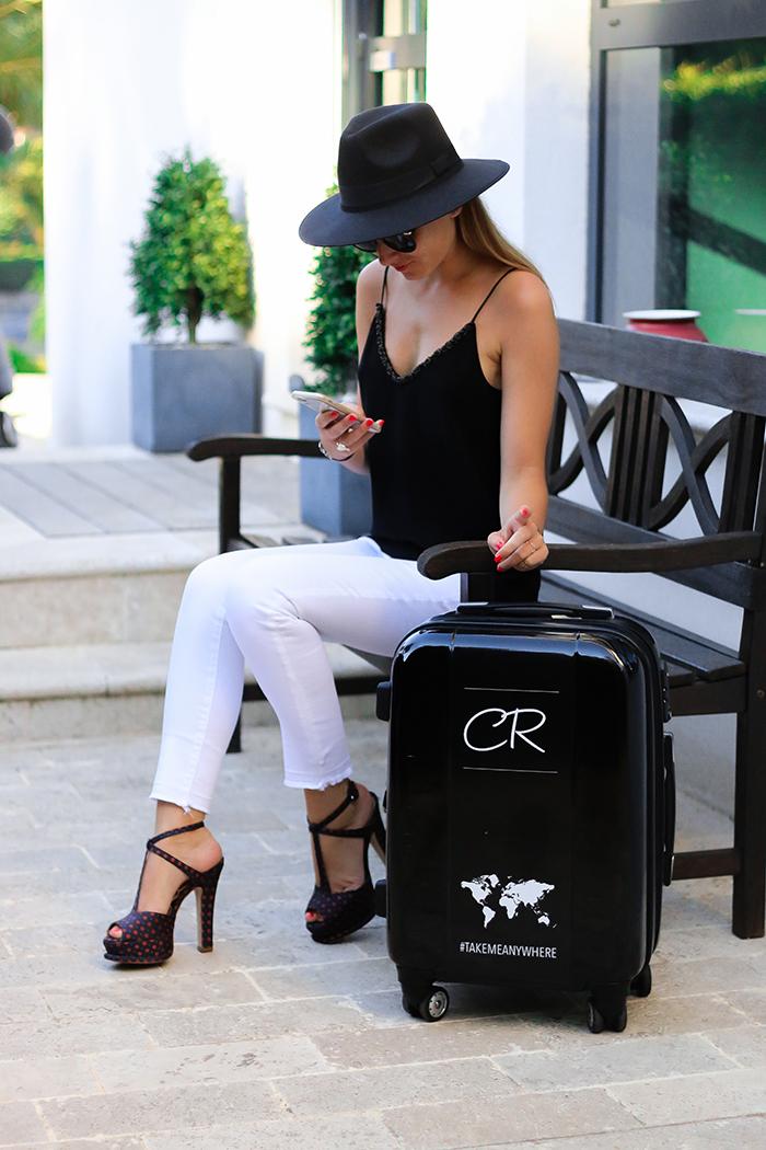 suitcase fashion calibag