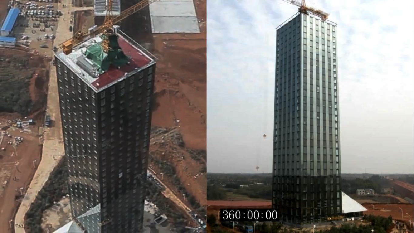 30-Story Building in China Built in 15 Days (VIDEO)