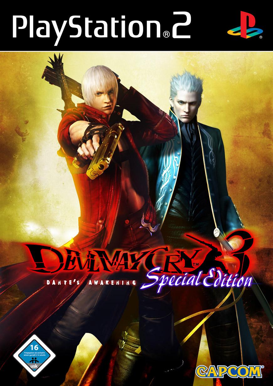 El juego de Devil May Cry DMC+Special+Edition