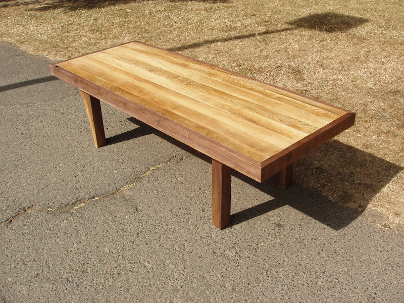 Driftedge woodworking reclaimed doug fir and live edge for Coffee tables 18 inches wide
