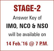 SOF Stage-2 answer key