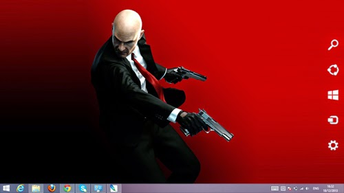 Hitman Absolution Theme For Windows 7 And 8 8.1 9