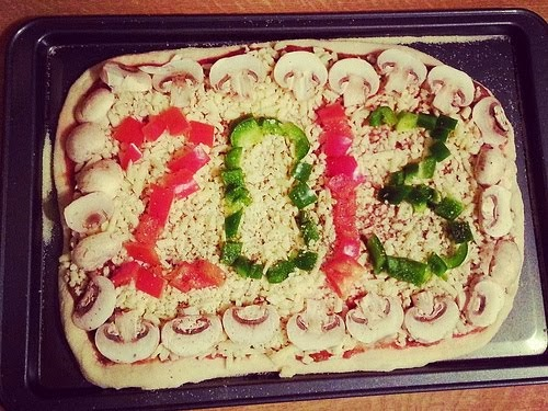 New Years Pizza