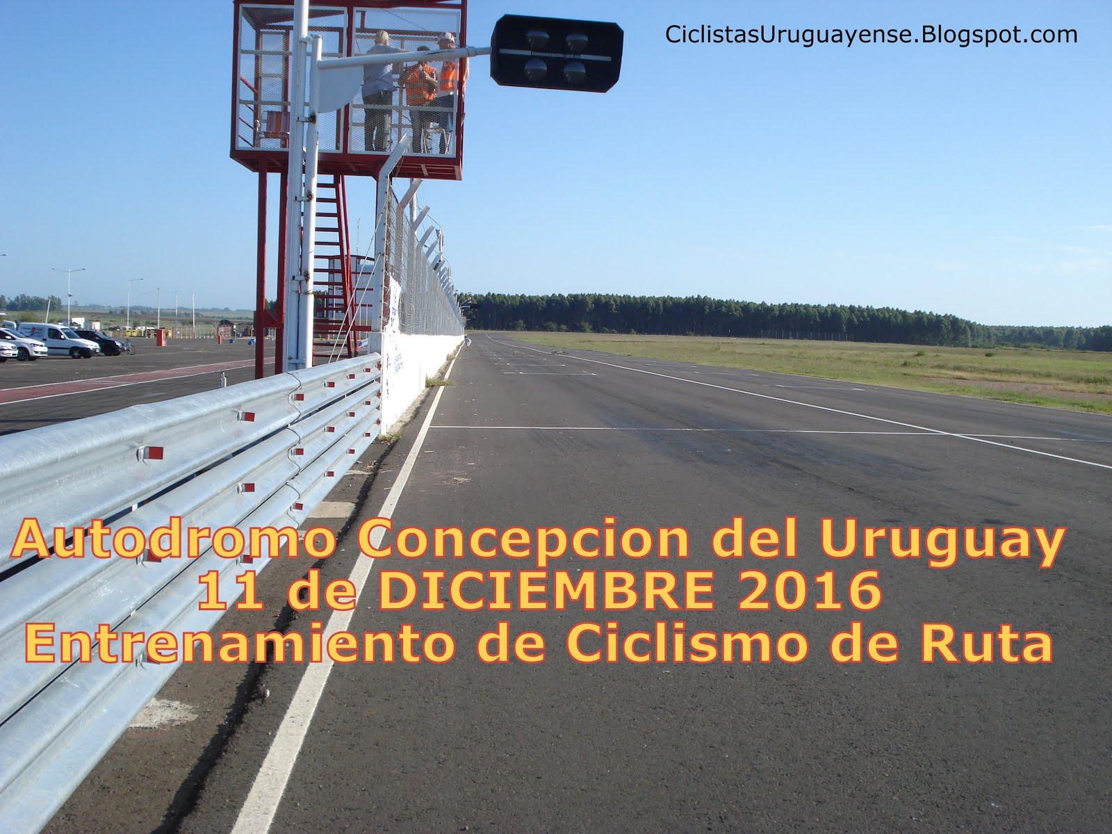 11-Dic-16 Entrenamiento en el Autodromo